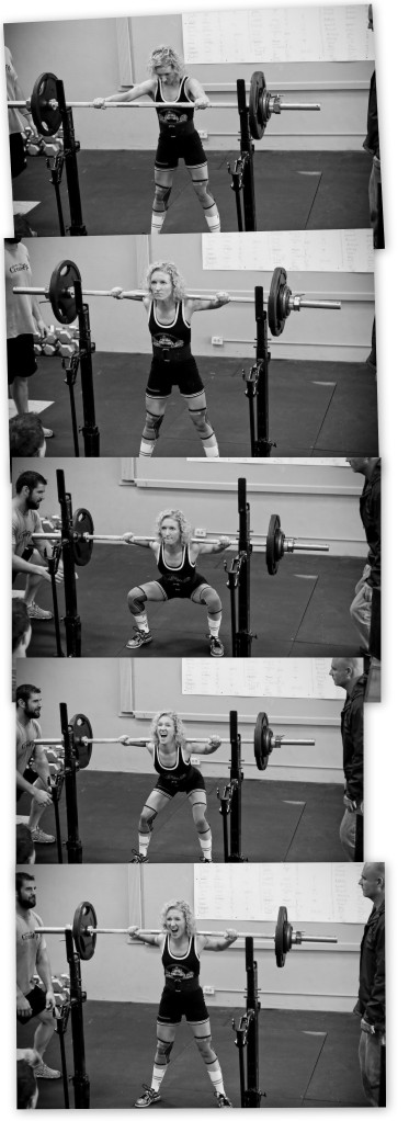 Squatting 180! Photos by Melissa Donald